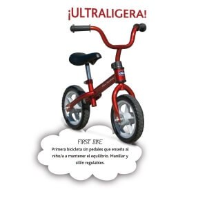 Velo draisienne Chicco